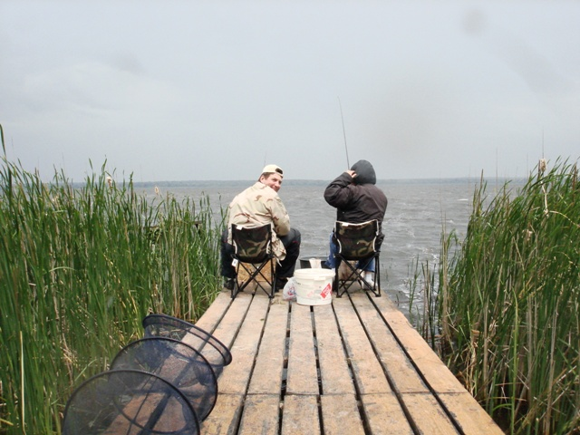 база для рыбалки на днепре